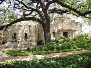 The Daughters of the Republic of Texas Library at the Alamo.