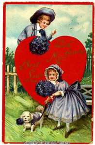 This postcard was likely made between 1913 and 1918.