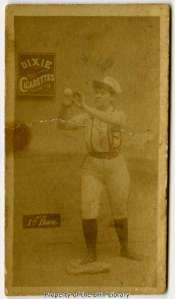 One of three sports cards at the DRT Library featuring female baseball players, circa 1880s.