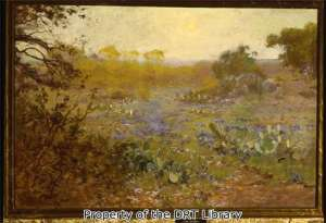 Julian Onderdonk, Spring Morning, 1911. Oil on canvas, 20 x 30 inches. (SC95.015)