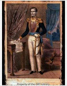 Antonio Lopez de Santa Anna (SC01.001)