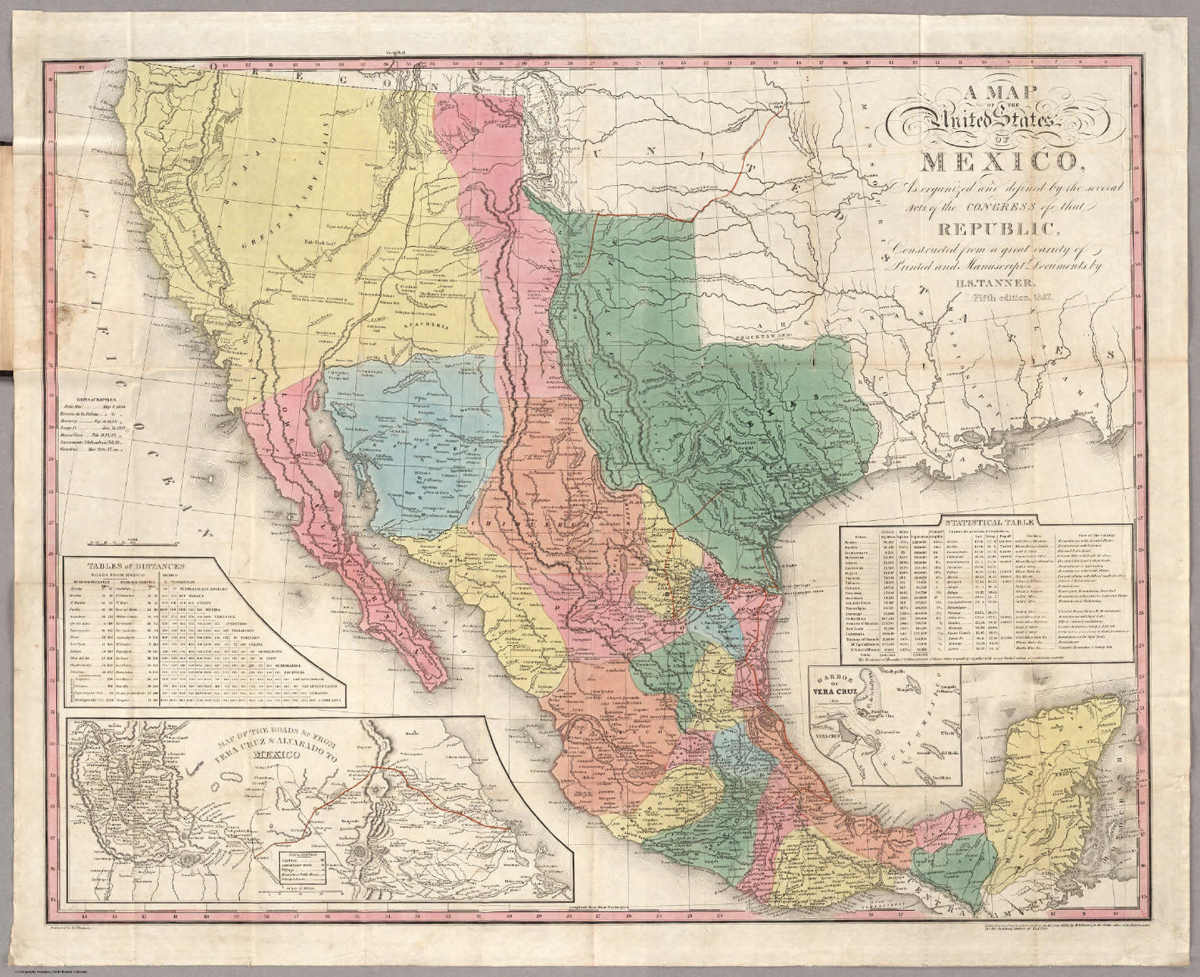 United States Map And Mexico