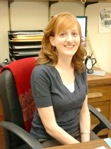 Caitlin Donnelly, CA, Archivist at the DRT Library.