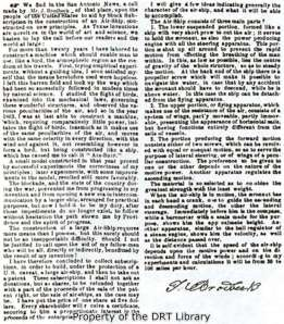 "A copy of Jacob Brodbeck's notice, which appeared in the Galveston Tri-Weekly News on August 7, 1865 (republished in Jacob Brodbeck ""Reached for the Sky"" in Texas)."