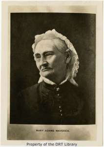 Mary Ann Adams Maverick, 1818-1898. (SC96.153)