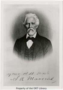 Samuel Augustus Maverick, 1803-1870. (SC96.154)