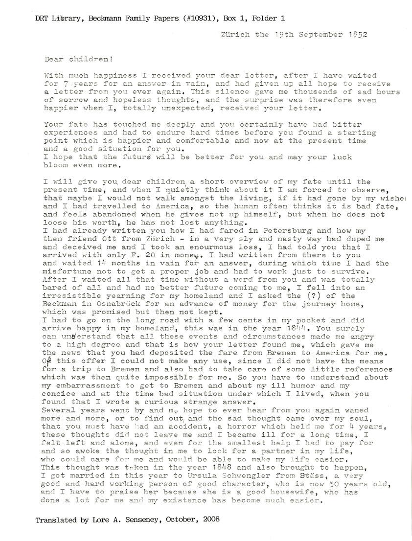 translations words essay