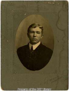 Sinclair around the time he was a student at the University of Texas.