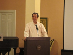John A. Sellars was the featured speaker at this year's Family History Seminar.