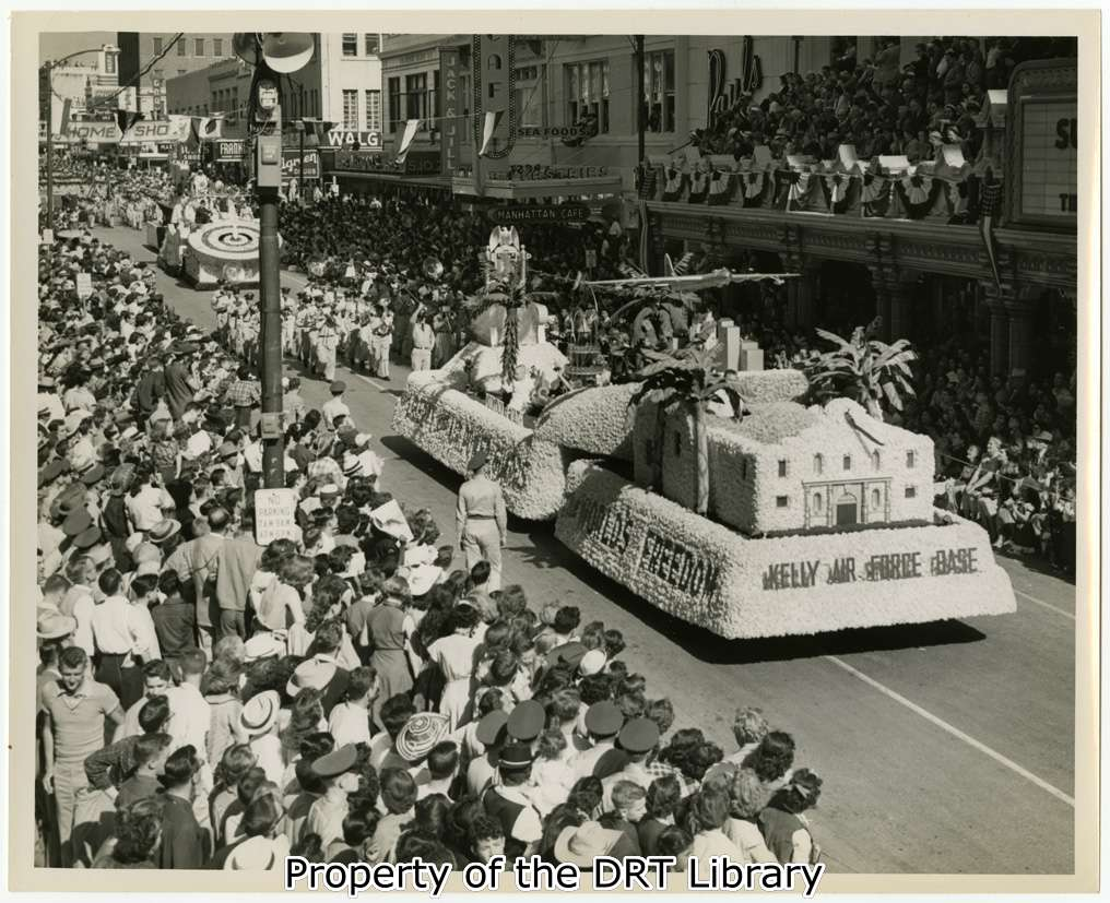 Battle Of Flowers Parade 1952 Inside The Gates