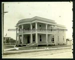 Photograph of the Joseph Courand House, Dielmann, Leo M.J., Papers, Col 883, DRT Library Collection, Alamo Research Center, San Antonio, Texas