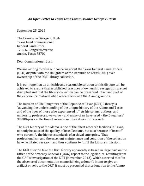 Final - Open Letter to Commissioner Bush with additional signatories 10 1 15_Page_1